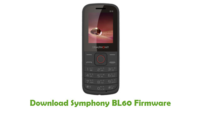 Download Symphony BL60 Firmware