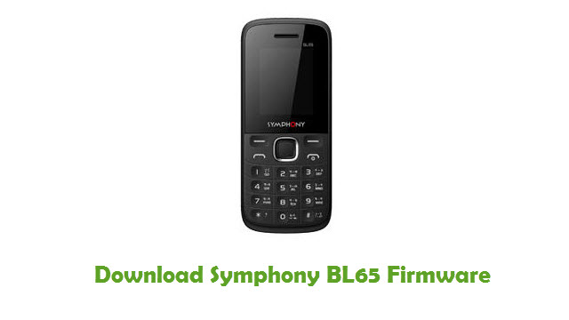 Download Symphony BL65 Firmware