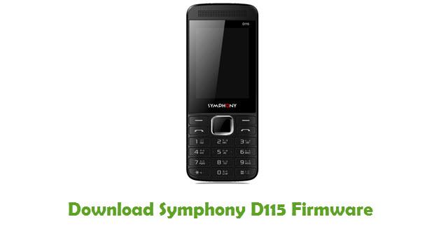 Download Symphony D115 Firmware