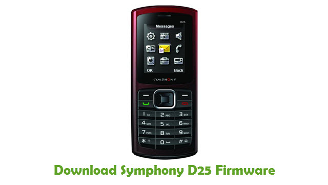 Download Symphony D25 Firmware