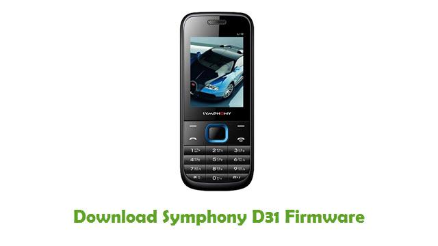 Download Symphony D31 Firmware