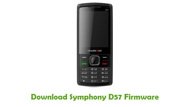 Download Symphony D57 Stock ROM