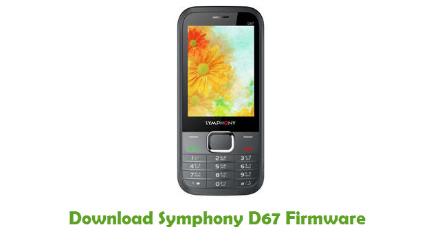Symphony D67 Stock ROM