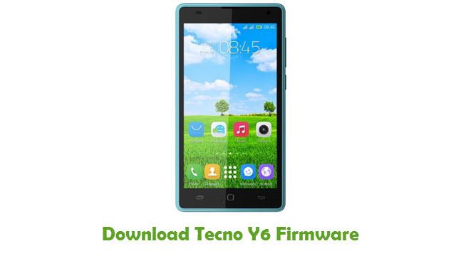 Tecno Y6 Stock ROM