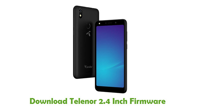 Telenor 2.4 Inch Stock ROM