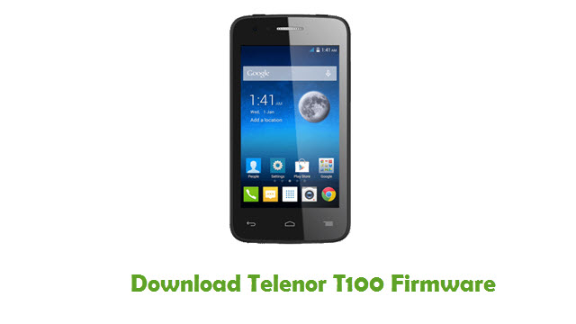 Telenor T100 Stock ROM