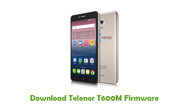 Telenor T600M Stock ROM