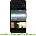 Western D18 Firmware