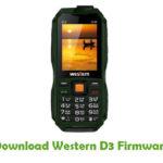 Western D3 Firmware