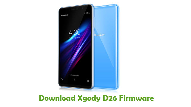 Download Xgody D26 Stock ROM
