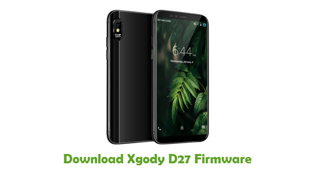 Download Xgody D27 Stock ROM