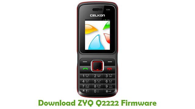 Download ZYQ Q2222 Firmware