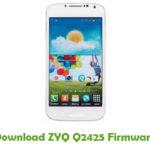 ZYQ Q2425 Firmware