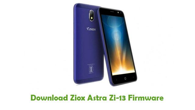 Download Ziox Astra Zi-13 Firmware