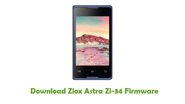 Download Ziox Astra Zi-34 Firmware