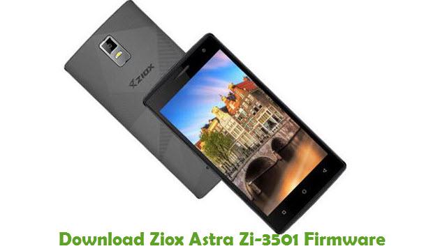 Download Ziox Astra Zi-3501 Firmware