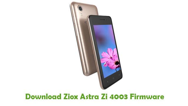 Download Ziox Astra Zi 4003 Firmware