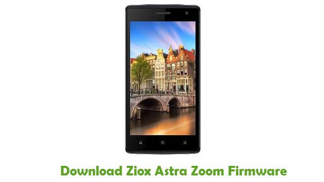 Download Ziox Astra Zoom Firmware