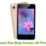 Ziox Quiq Cosmos 4G Firmware
