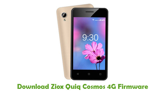 Download Ziox Quiq Cosmos 4G Firmware