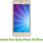 Ziox Quiq Flash 4G Firmware
