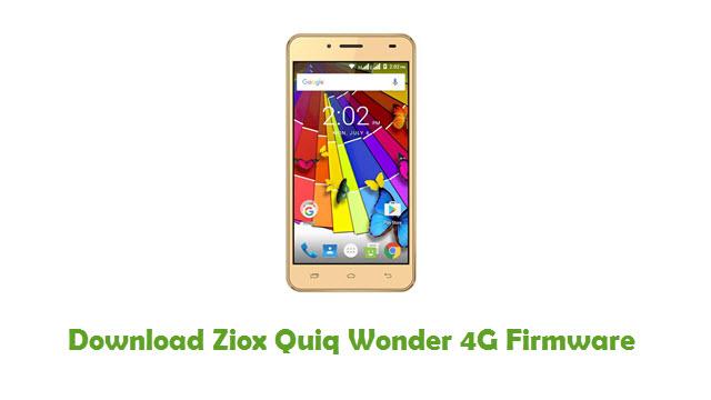 Download Ziox Quiq Wonder 4G Firmware