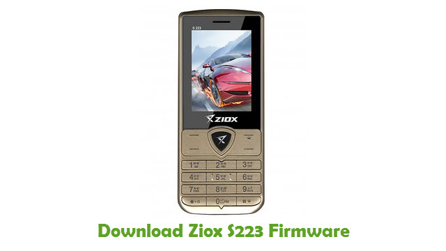 Download Ziox S223 Firmware