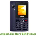 Ziox Starz Bolt Firmware
