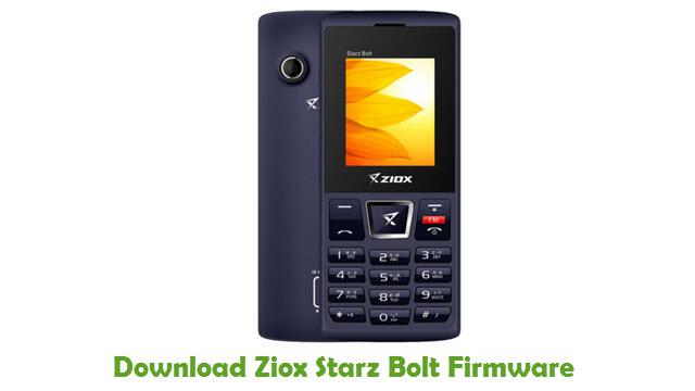 Download Ziox Starz Bolt Firmware