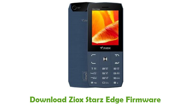 Download Ziox Starz Edge Firmware