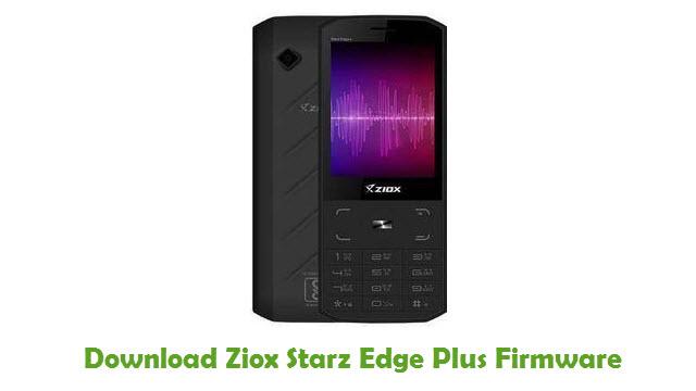 Download Ziox Starz Edge Plus Firmware