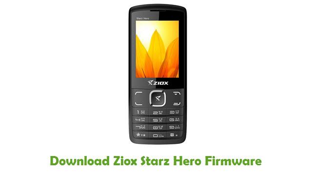 Download Ziox Starz Hero Firmware