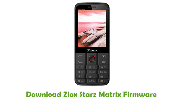 Download Ziox Starz Matrix Firmware