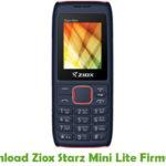 Ziox Starz Mini Lite Firmware