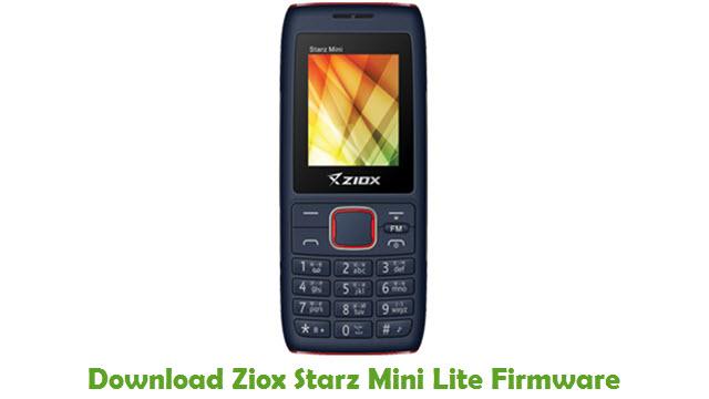 Download Ziox Starz Mini Lite Firmware