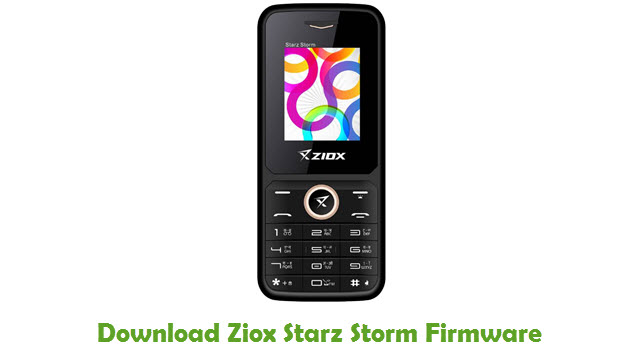 Download Ziox Starz Storm Firmware