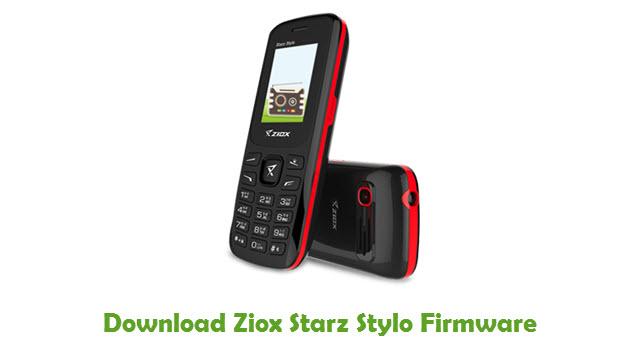 Download Ziox Starz Stylo Firmware