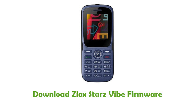 Download Ziox Starz Vibe Firmware