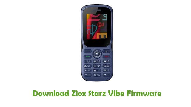 Ziox Starz Vibe Stock ROM