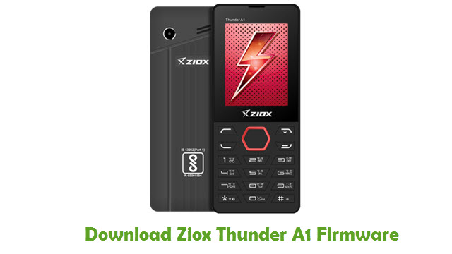 Download Ziox Thunder A1 Firmware