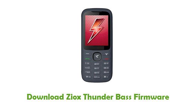 Download Ziox Thunder Bass Firmware