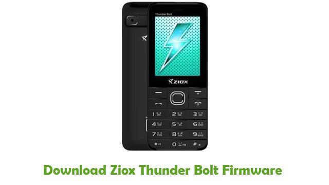 Download Ziox Thunder Bolt Firmware