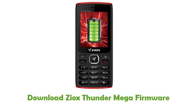 Download Ziox Thunder Mega Firmware