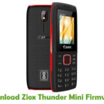Ziox Thunder Mini Firmware