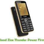 Ziox Thunder Power Firmware