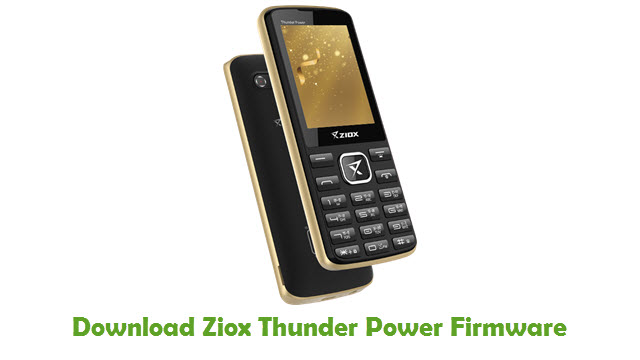 Download Ziox Thunder Power Firmware