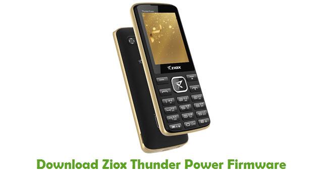 Ziox Thunder Power Stock ROM