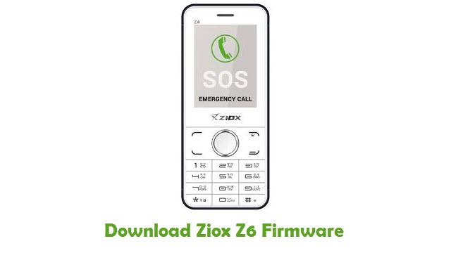 Download Ziox Z6 Firmware