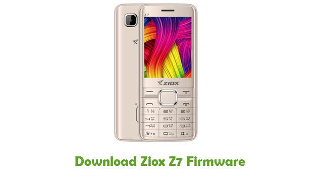 Download Ziox Z7 Firmware