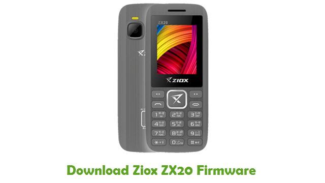 Download Ziox ZX20 Firmware